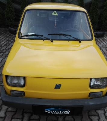 Fiat 126p Kurczaczek - Detailing Częstochowa Korekta lakieru
