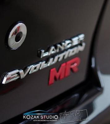 Renowcja lakieru Mitsubishi Lancer Evo MR Częstochowa_23